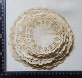 Tea Dyed Doily Pack - Set of 25 - (HM-4149)