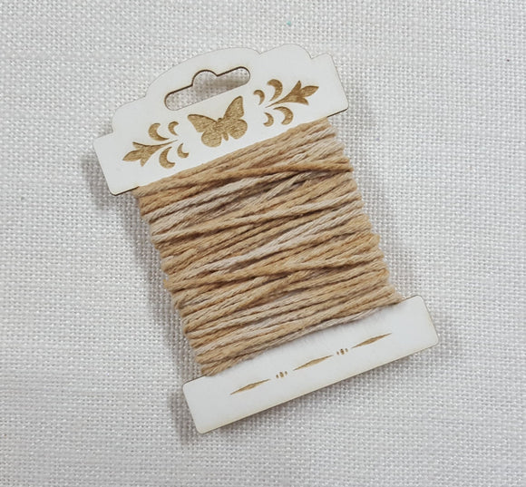 Tea Dyed Cotton Twine - (HT-4178)