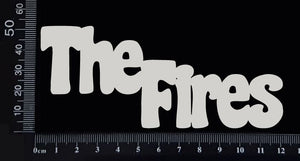 The Fires - C - White Chipboard