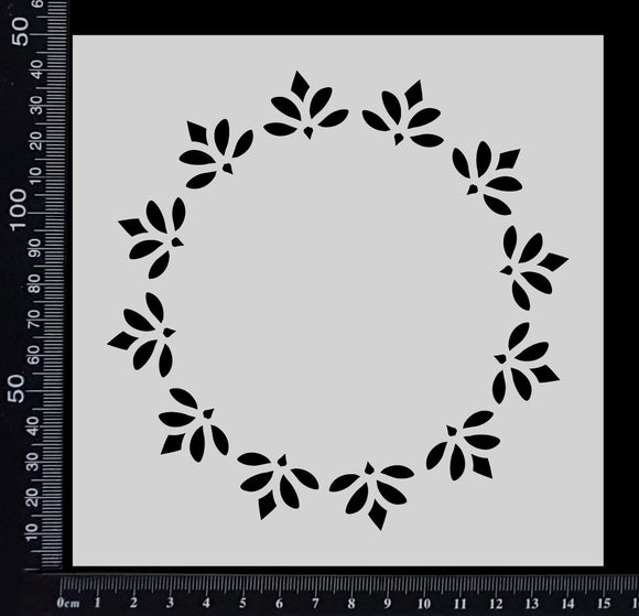 Tiffany Frame - Stencil - 150mm x 150mm