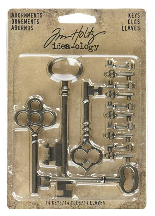 Tim Holtz - Adornments Keys