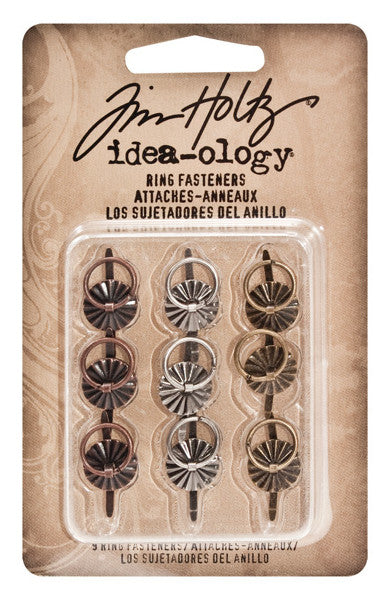 Tim Holtz - Ring Fasteners