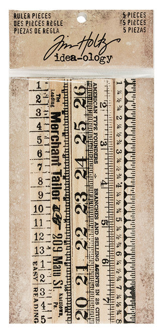 Tim Holtz - Ruler Pieces