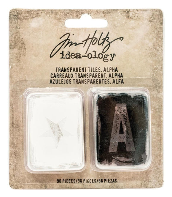 Tim Holtz - Transparent Tiles