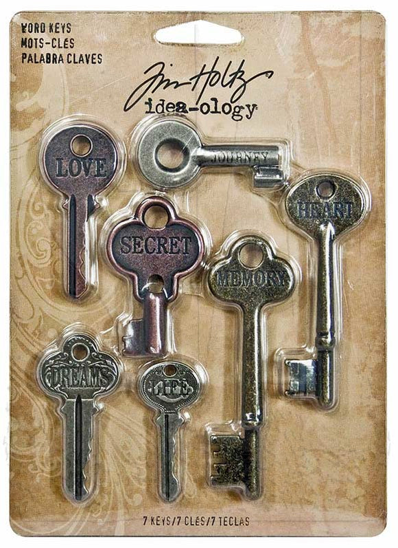 Tim Holtz - Word Keys