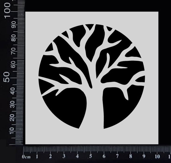 Tree of Life - Stencil - 100mm x 100mm