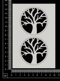 Tree of Life Set - White Chipboard