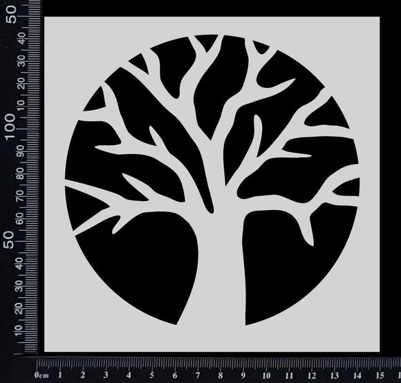Tree of Life - Stencil - 150mm x 150mm