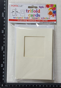 Trifold Cards - Ivory