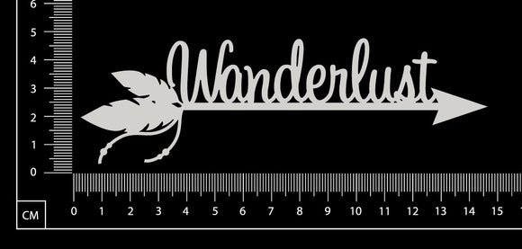 Wanderlust - A - White Chipboard
