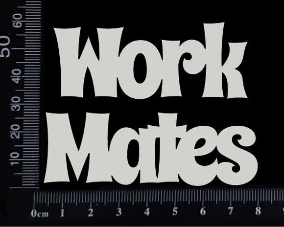 Work Mates - White Chipboard
