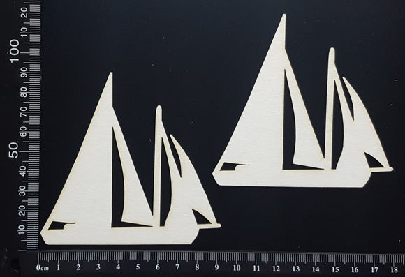 Yacht Set - White Chipboard