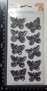 Embossed Stickers - Butterflies - (ES-4246)