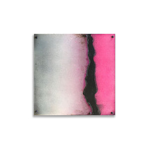 Pink Fog | Metal Wall Art