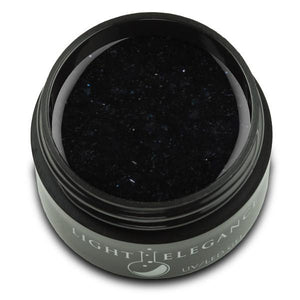 Black Lace UV/LED Glitter Gel - Light Elegance