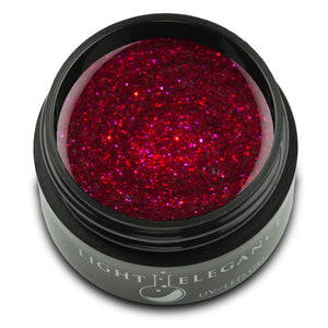 Candy Apple UV/LED Glitter Gel - Light Elegance