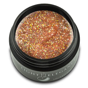Caramel UV/LED Glitter Gel - Light Elegance