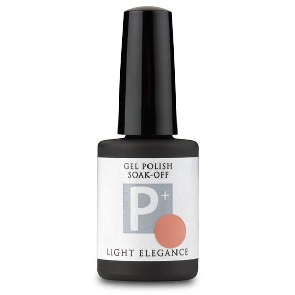 P+ Do the Mocha Polka Gel Polish - Light Elegance