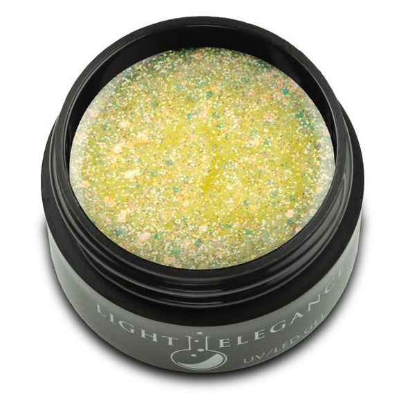 Synchronized Sparkle UV/LED Glitter Gel - Light Elegance