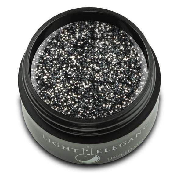 Tuxedo UV/LED Glitter Gel - Light Elegance