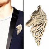 Wolf PIN, Silver, Gold or Bronze Tone, Celebrate Game of Thrones