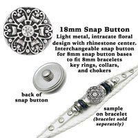 snap buttons, rhinestone snap button, crystal button snaps, 18mm rhinestone snaps, snap button, silver snap button, snap button with rhinestone, snap button jewelry, jewelry for snap buttons, jewelry for snaps, rhinestone charm, button charm, button snaps, Etsy snap buttons, Buy Crafts For Less, BuyCraftsForLess, gift for her, Richards Crafts