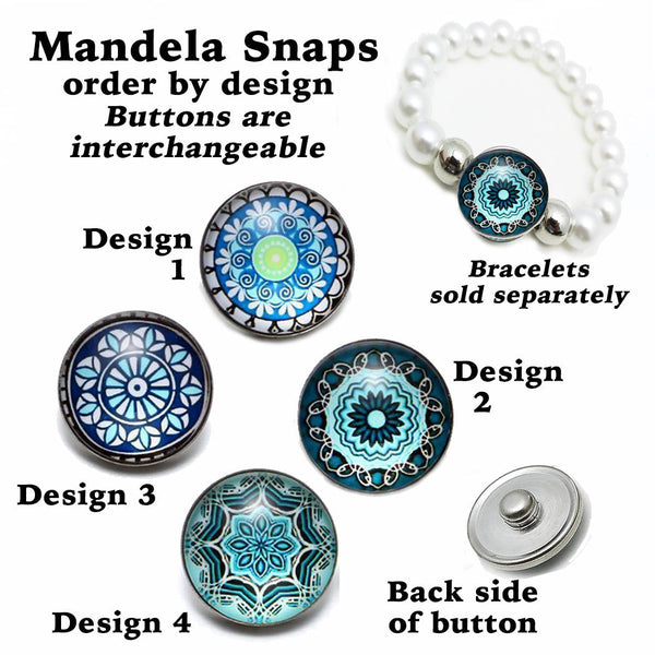 mandala snap buttons, snap button, button snaps, mandala charm, 18mm snaps, mandala snap, mandala button, snap mandala, button snap, snap button jewelry, jewelry for snap buttons, jewelry for snaps, button charm, button snaps, Etsy snap buttons, Buy Crafts For Less, BuyCraftsForLess, gift for her, Richards Crafts