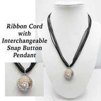 SNAP Button PENDANTS, for Interchangeable Snap Buttons