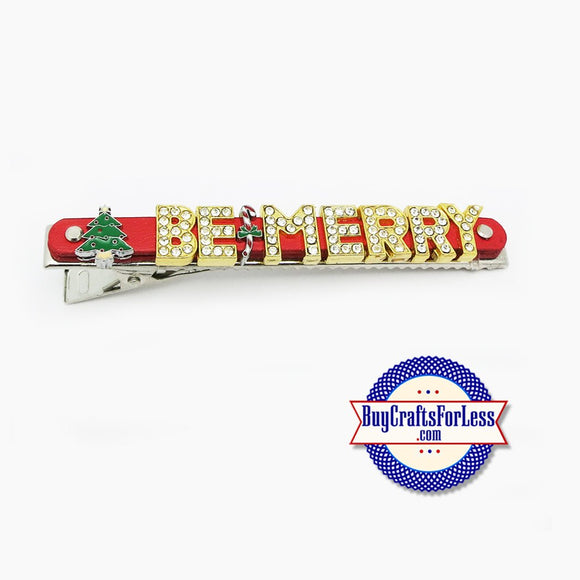 Holiday Hair BARRETTE - SuPER CuTE! **FREE SHIPPING**