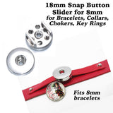 snap button base, snap button for slider bracelet, button snap base, slider bracelet snap base, snap button for slide bracelet, snap button jewelry, jewelry for snap button, jewelry for snaps, slider button charm, slide button snap, Etsy snap buttons, Buy Crafts For Less, BuyCraftsForLess, gift for her, Richards Crafts