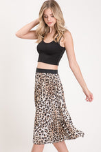 Spot On Pleated Skirt (leopard)