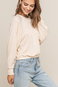 Best Friend Knit Top (cream)