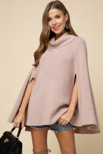 Feeling Powerful Poncho (blush) front