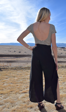 Date Night Split Leg Kimberly Pants - (back with Bodysuit)