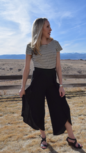 Date Night Split Leg Kimberly Pants - (front with Bodysuit)