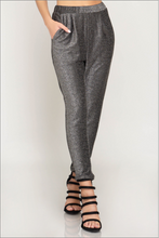 Starry Night Party Pants - Charcoal/Silver