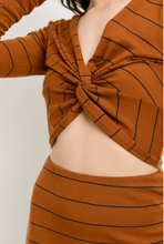 Cinnamon Girl Reversible Twist Top
