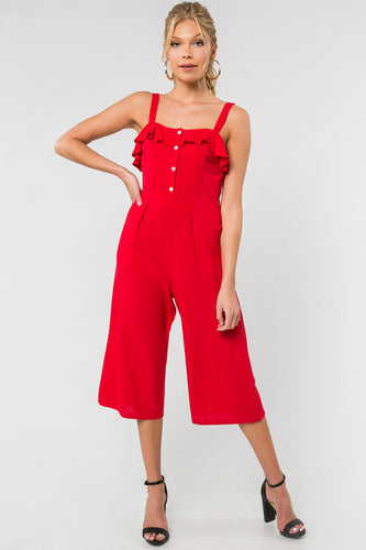 Ready, Set, Go Jumper - Red (front view)