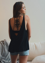 Title	Inked Illusion Racerback Bralette - Black (full back).png