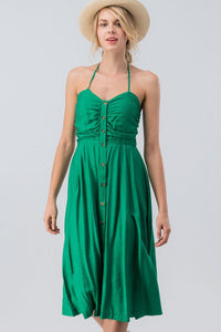 Feel'n Lucky Dress (Green) front