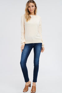 Peaches and Cream Long-Sleeve Sweater (full)