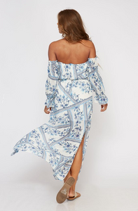 Off-Shoulder Maxi Dress blue-white (back view).png