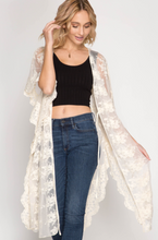 Don't Forget Me Lace Kimono - Natural (front).png