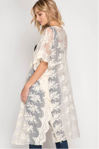 Don't Forget Me Lace Kimono - Natural (side & back).png