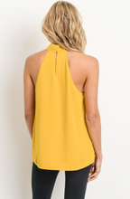 Allure of Spring Blouse - Mustard - back view