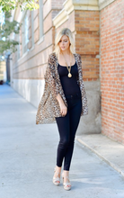 Wild At Heart Leopard Kimono - Brown (front1)