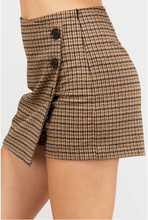 Wrap Skort - Brow/Charcoal (side 2)