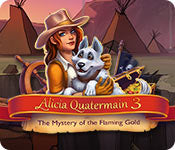 Time Management game - Alicia Quatermain 3: The Mystery of the Flaming Gold