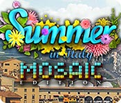 Puzzle game - Summer in Italy Mosaic Edition
