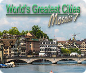 Brain Teaser game - World's Greatest Cities Mosaics 7
